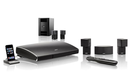 Lifestyle V35 home entertainment system: Bose surround sound has never been easier to enjoy.