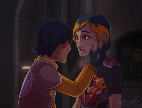 Love this! So shows how much Ezra cares for Sabine | Star ...