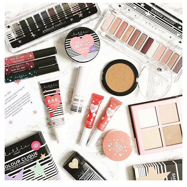 UPDATE! Lottie London Makeup is now available online at @asos Friday just got a whole lot better