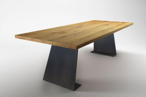 Tisch Wangen Farum Stahl - Ansicht 3