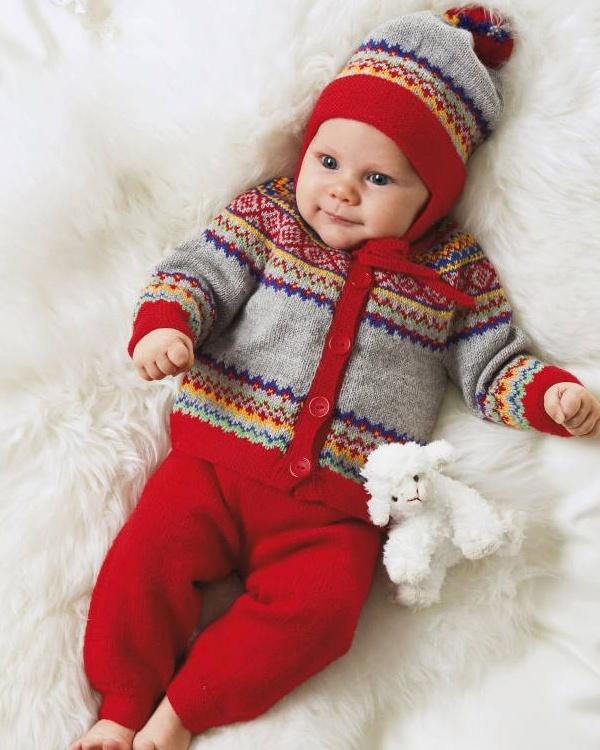 Mössa och jacka #knittingroom #stickat #garn #sandnessgarn #sandness #barn
