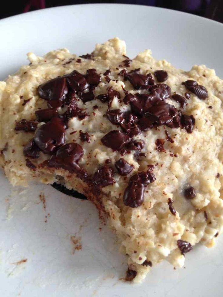 Galette flocon d'avoine chocolat (ou cookies ...)