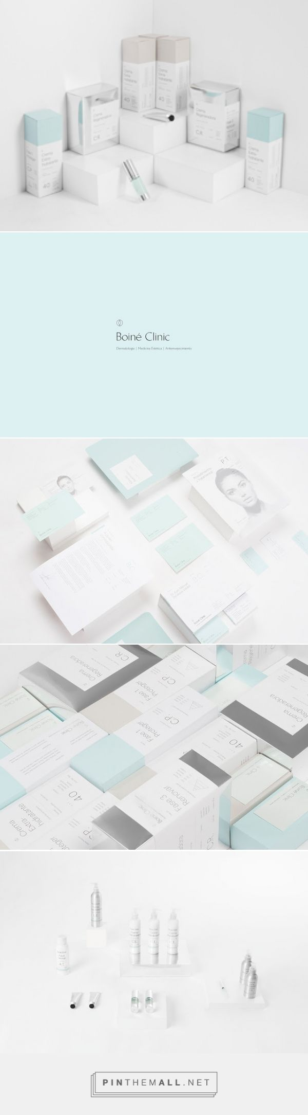 Boine Clinic on Packaging of the World - Creative Package Design Gallery - created via http://pinthemall.net