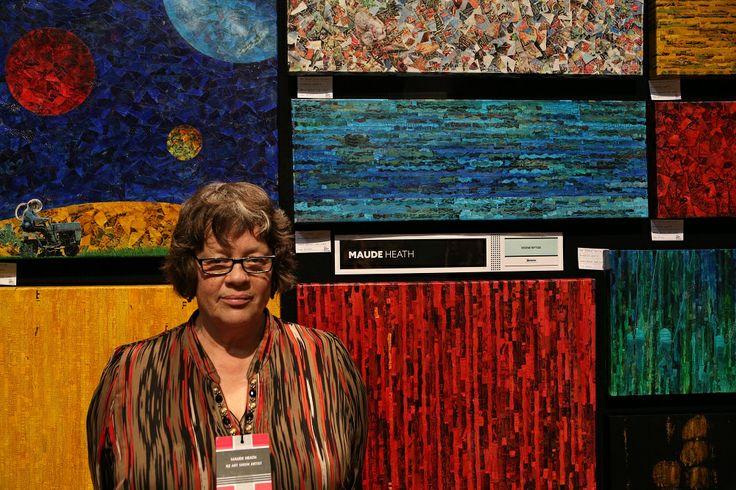 Maude Heath - SAW artist NZ Art Show 2013