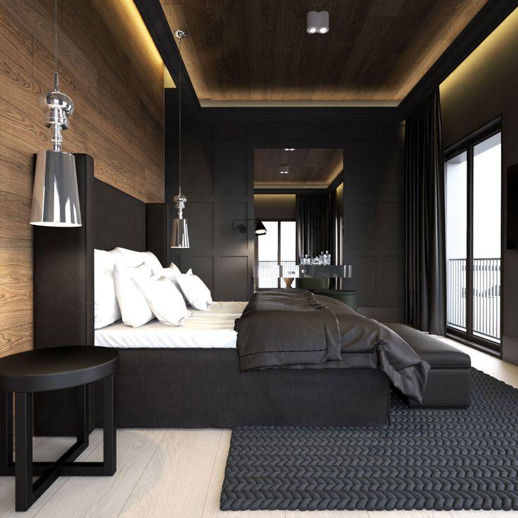 более фото дизайна спальни мужчины подмосковная