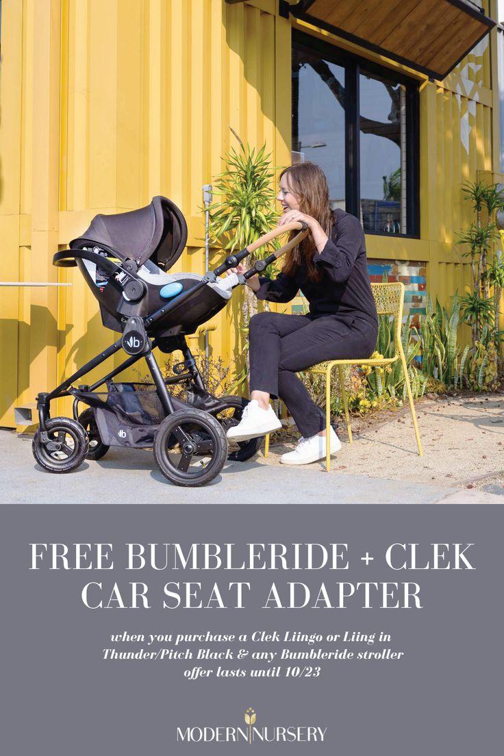FREE Bumbleride + Clek car seat adapter in 2020 Clek car