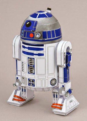 Descargable de R2-D2 para maqueta 3D
