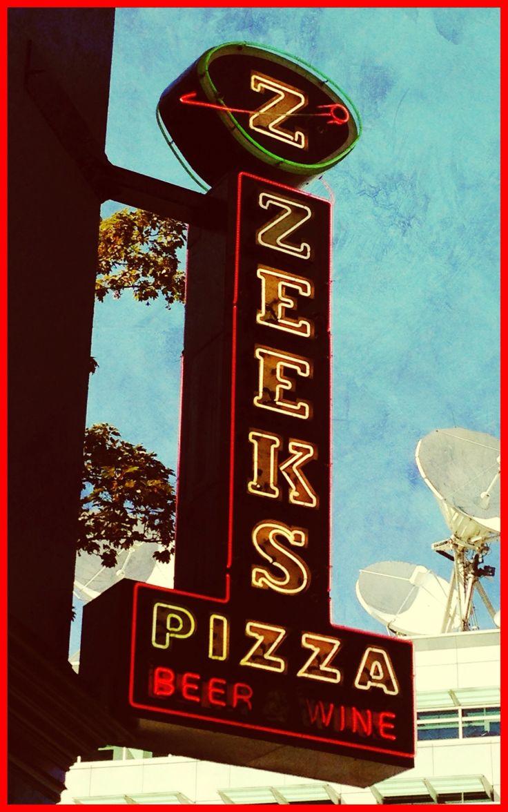 Zeeks Pizza. Seattle. Delicious!