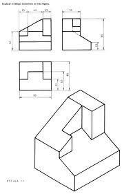 DIBUJOS ISOMETRICOS:  1.CONTENIDO:   DEFINICION:    Unaproyección isométrica es u...