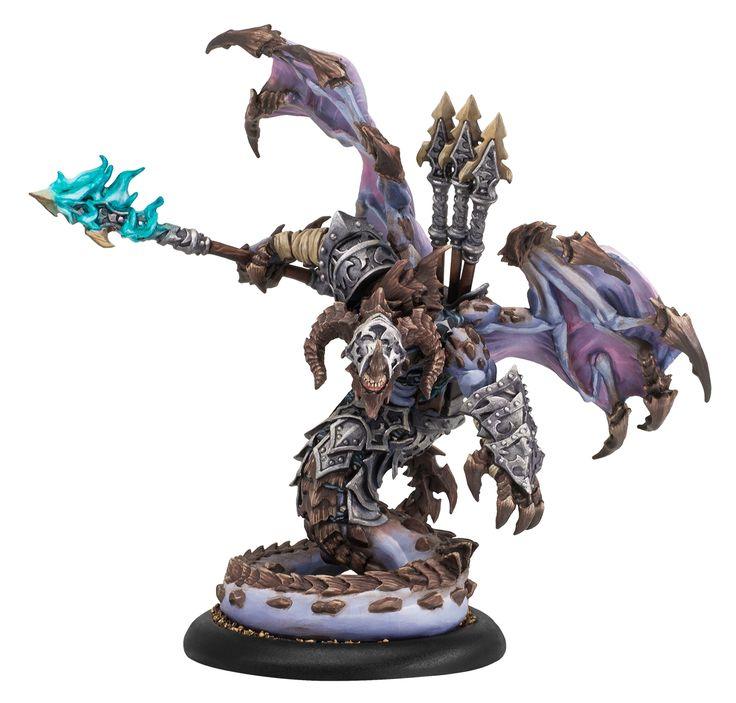 Privateer Press Hordes Legion of Everblight: Azrael Nephilim Heavy Warbeast (resin/metal)