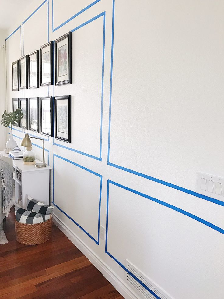 How to Install Decorative Picture Frame Wall Molding