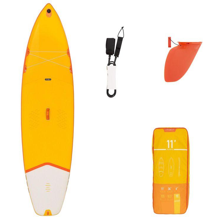 EXPLORER Vario SUP FIBERGLAS PADDEL 175-215CM Stand UP Paddle Board 3-TEILIG