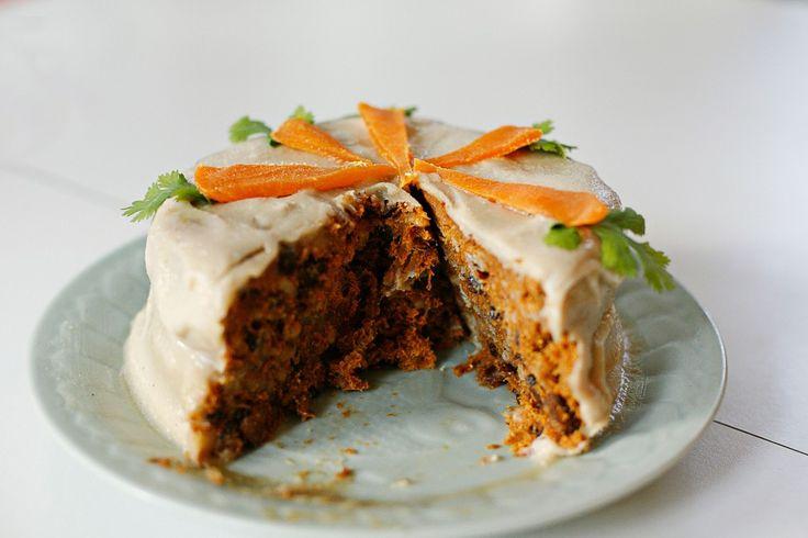 Carrot cake en HazteVegetariano.com