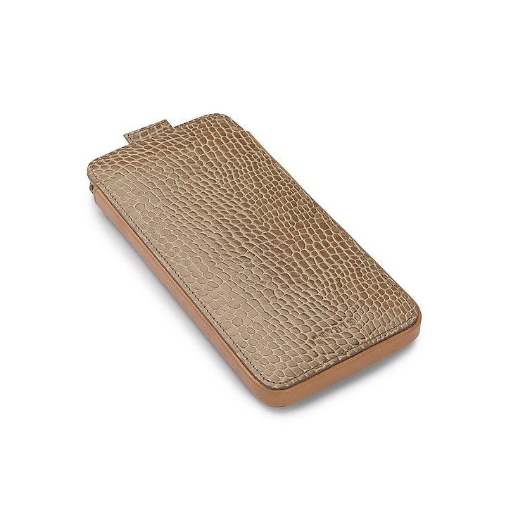 iPhone 7 Case in Chanterelle Croc