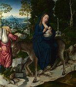 """New artwork for sale! - """" The Flight Into Egypt by Workshop of the Master of 1518 """" - http://ift.tt/2ozn8pE"""