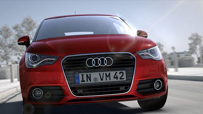 #AudiA1 #Audi #red #sun #fun