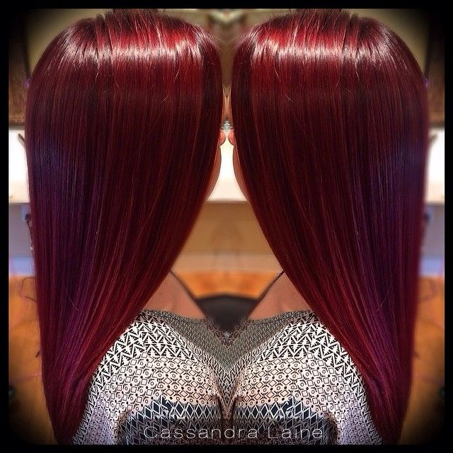Diy Cherry Coke Hair Color | Dark Brown Hairs