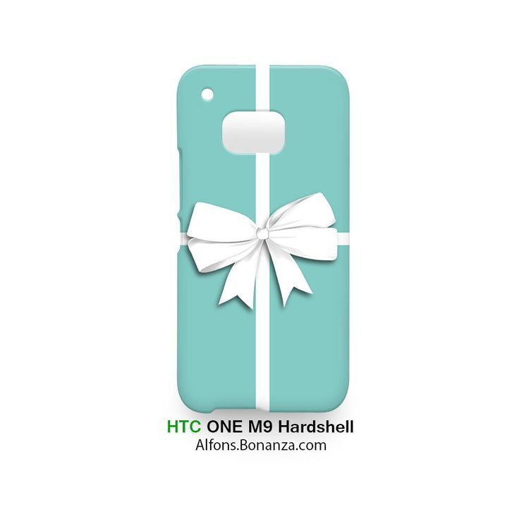 Tiffany Box Bow HTC One M9 Case