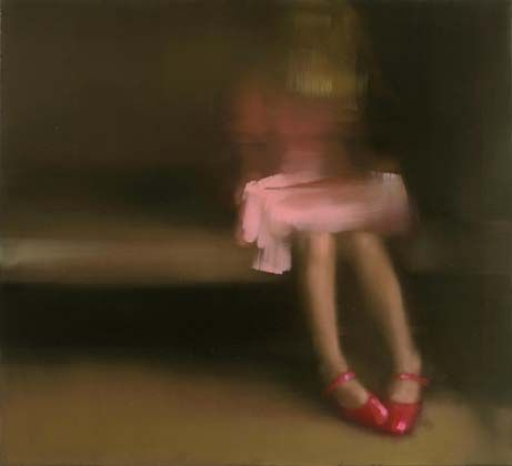 by painter tiina heiska, from the series patent shoes.