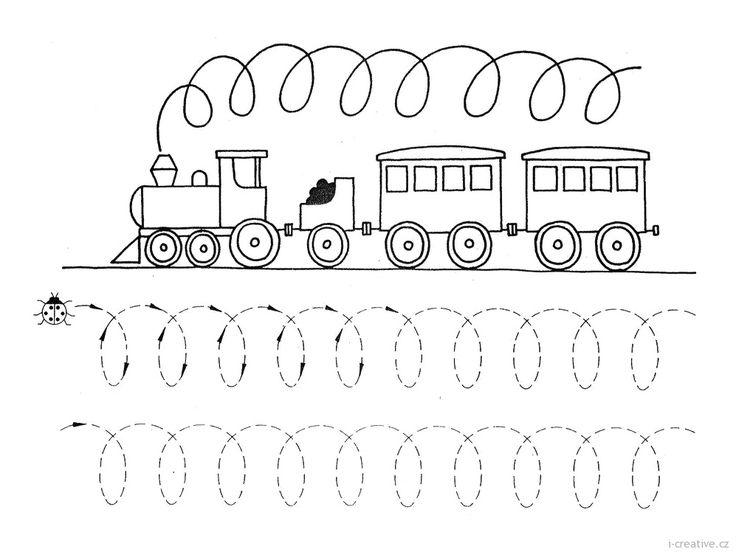 lokomotiva pracovní list