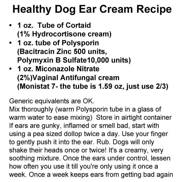 Dog Cream For Yeast Infection in Ears