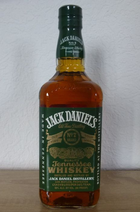 """Jack Daniels Green Label oude """"erfgoed"""" versie 750 ml  Jack Daniels groene LABEL.de fles is in de oude versie van het erfgoed.De fles 750ml heb.  EUR 2.00  Meer informatie"""