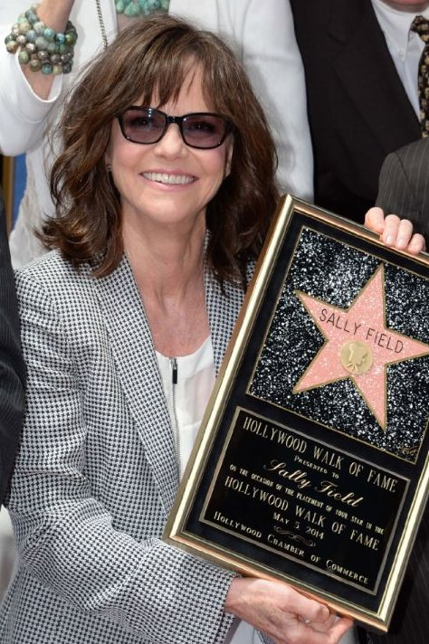 May 5, 2014 ~ Sally Field finally gets her star on the Hollywood Walk of Fame