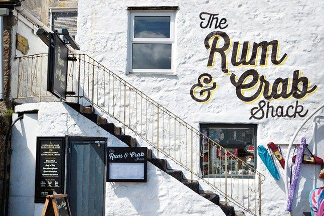 Rum  Crab Shack, St Ives | Seafood restaurants in St Ives (Condé Nast Traveller)