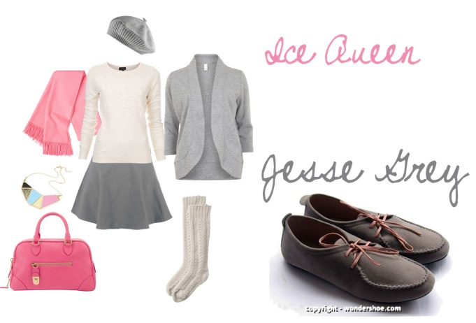 Grey shouldn't be gloomy if you know how to wear our Jesse Grey :)