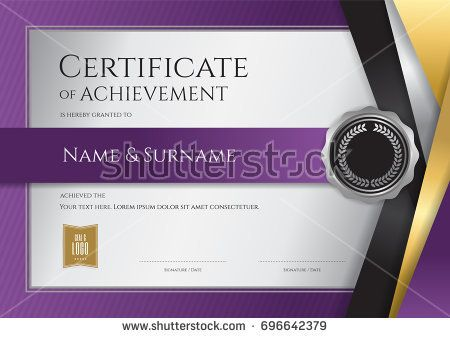 125 best Certificate template images on Pinterest Certificate - graduation certificate template