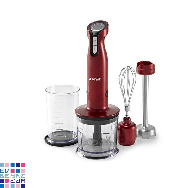 Arçelik K 8235 HB Kırmızı Blender Set