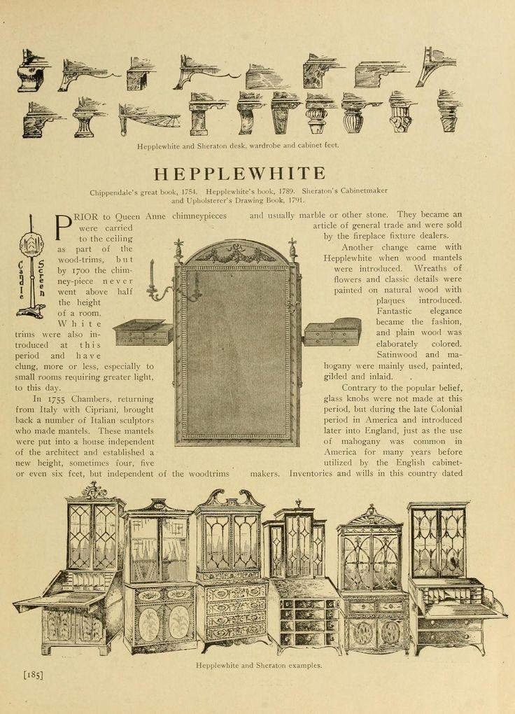 68 best decorating antique period furniture styles identification images on pinterest. Black Bedroom Furniture Sets. Home Design Ideas