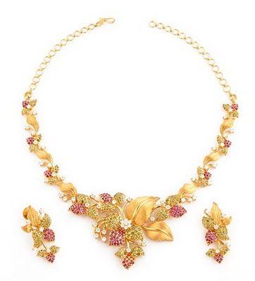 Indian Gold Necklace Designs Pictures Dptrnx