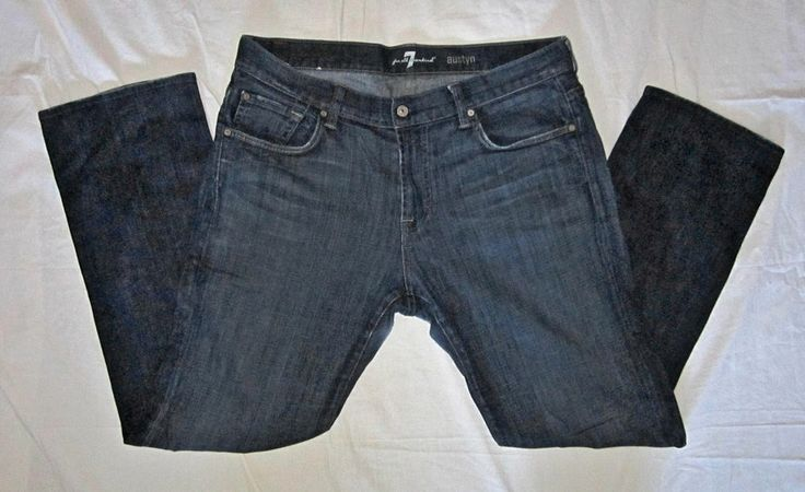 7 For All Humanity Austyn Men's Relaxed Jeans Measure 38 x 33