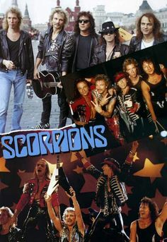 Scorpions - they made one of the greatest rock songs (rock you like a hurricane)