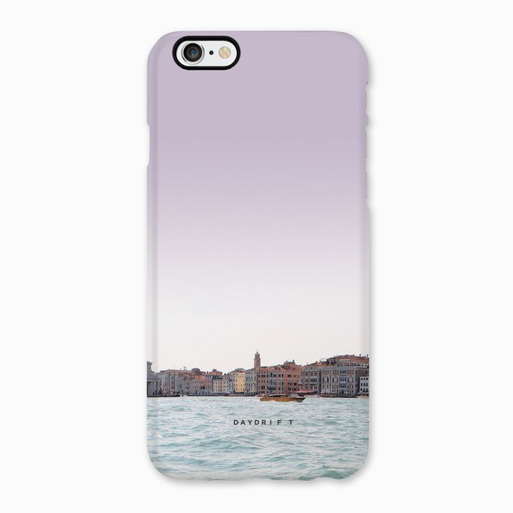 Canals of Venice. Limited edition luxury iPhone 5 and iPhone 6 Phone Cases featuring a Daydrift photograph of Venice, Italy.