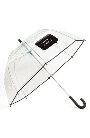 kate spade new york 'rain check' umbrella | Nordstrom $38 (available Nordstrom Pentagon City)