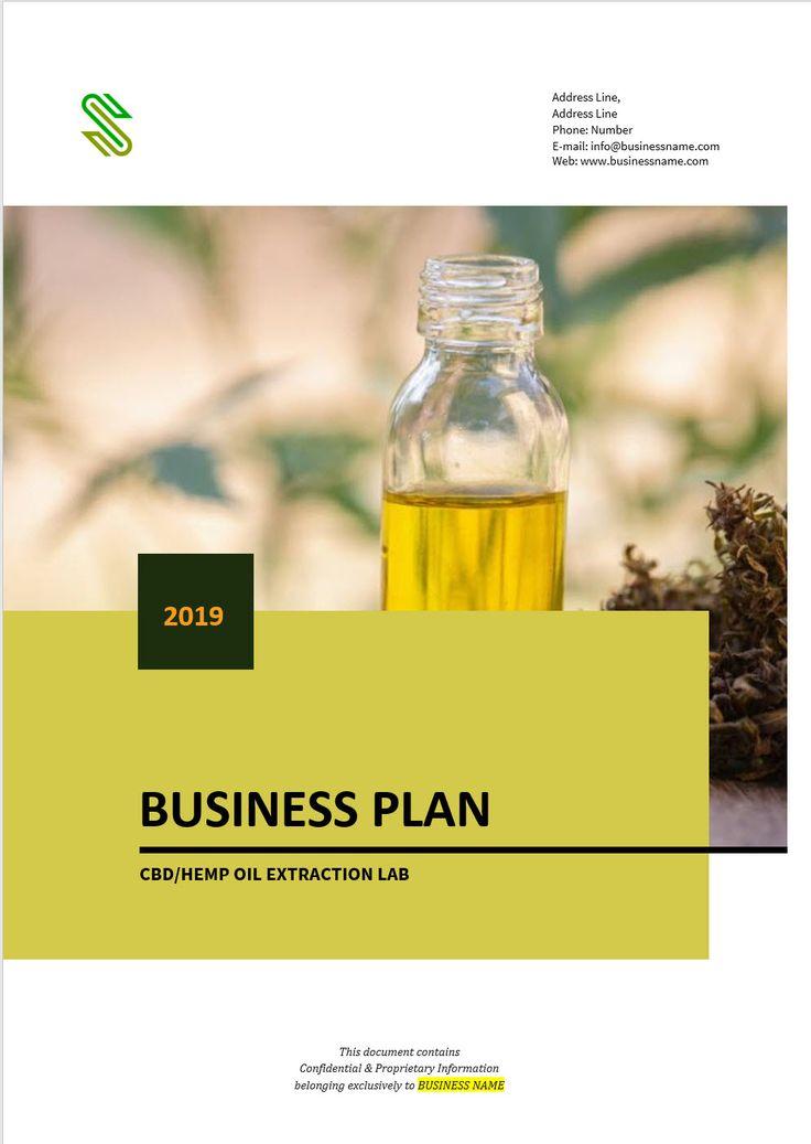 Hemp Cultivation Business Plan Template in 2020 Business