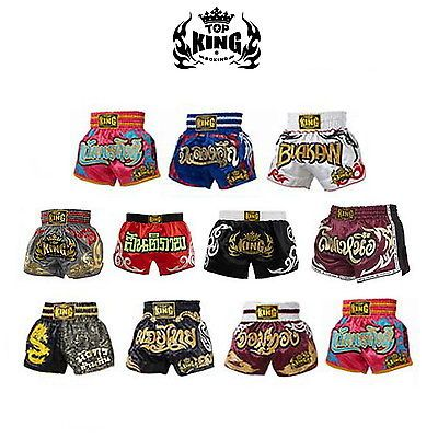 Shorts 73982: Top King Muay Thai Boxing Kick Boxing Mma Shorts Retro S M L Xl 3L 4L -> BUY IT NOW ONLY: $49.95 on eBay!