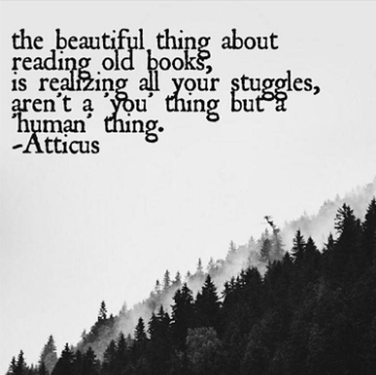'Human Thing' @atticuspoetry