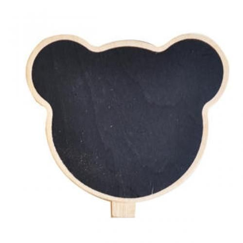 Bear Message Board - Black Black - One Size