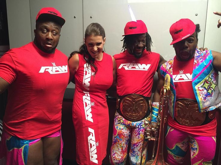 Stephanie McMahon and The New Day backstage - WWE SmackDown! July 19 2016