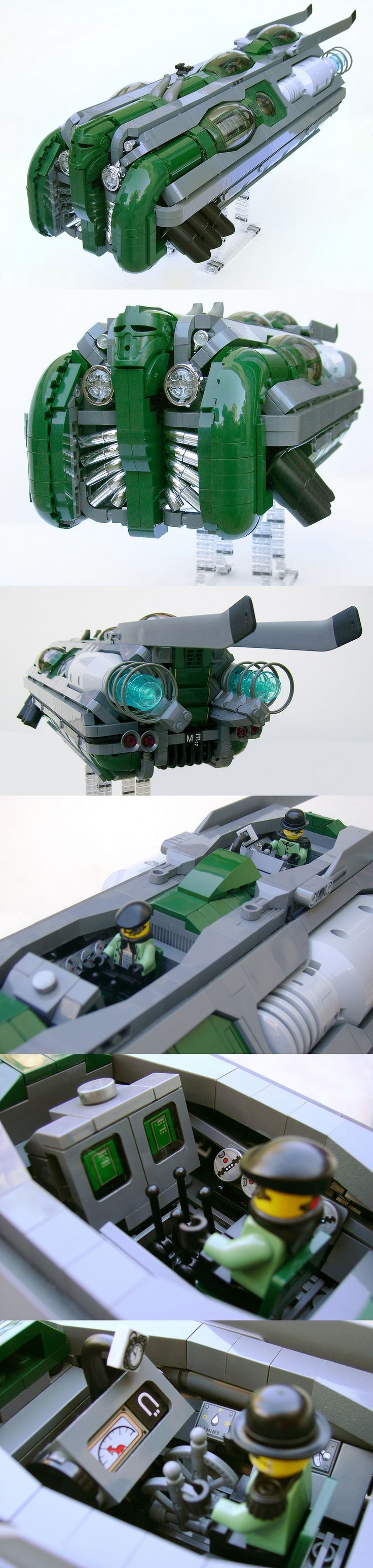 Dieselpunk Machine_n°3 Lego awesomeness!