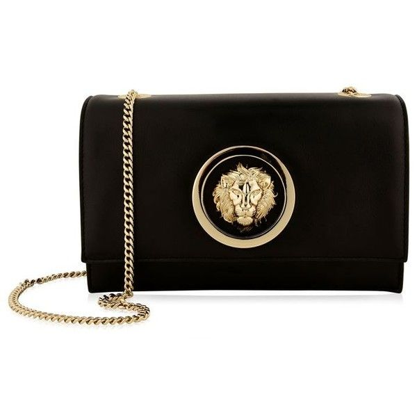 Versus Versace Lion Head Chain Bag (730 AUD) ❤ liked on Polyvore featuring  bags, handbags, shoulder bags, mini shoulder bag, chain shoulder bag,  crossbody ... 48c711a427