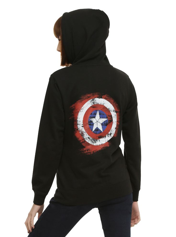 Marvel Her Universe Captain America: Civil War Girls Hoodie | Hot Topic