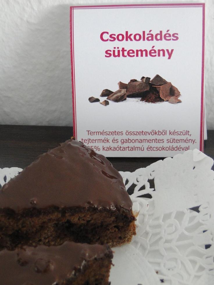 Gabonamentes, tejtermékmentes 10 szeletes torta, 85% étcsokoládéval. Rendelhető házibulira, szülinapra, lánybulira ...