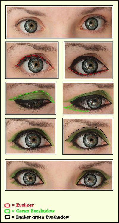 Green Eyes [Cosplay make-Up] by JackyChip on deviantART