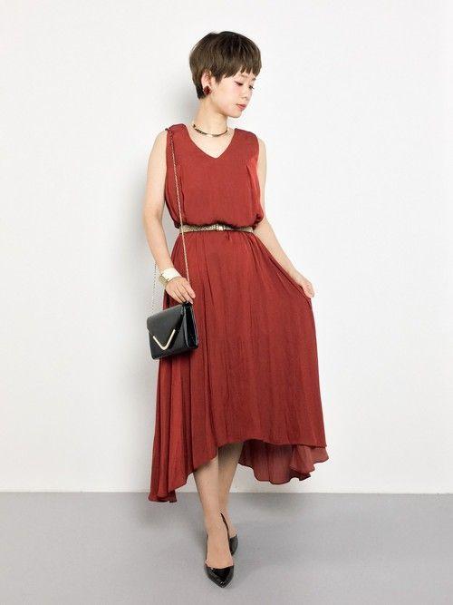 laboratory workのドレス「ベルト付きロングテールドレス【結婚式 ワンピース】」を使ったyuki(ZOZOTOWN)のコーディネートです。WEARはモデル・俳優・ショップスタッフなどの着こなしをチェックできるファッションコーディネートサイトです。