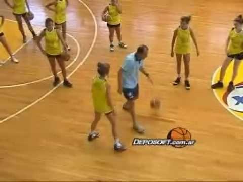 Eduardo Pinto - basquetbol Femenino - clinics Lanzamientos - YouTube