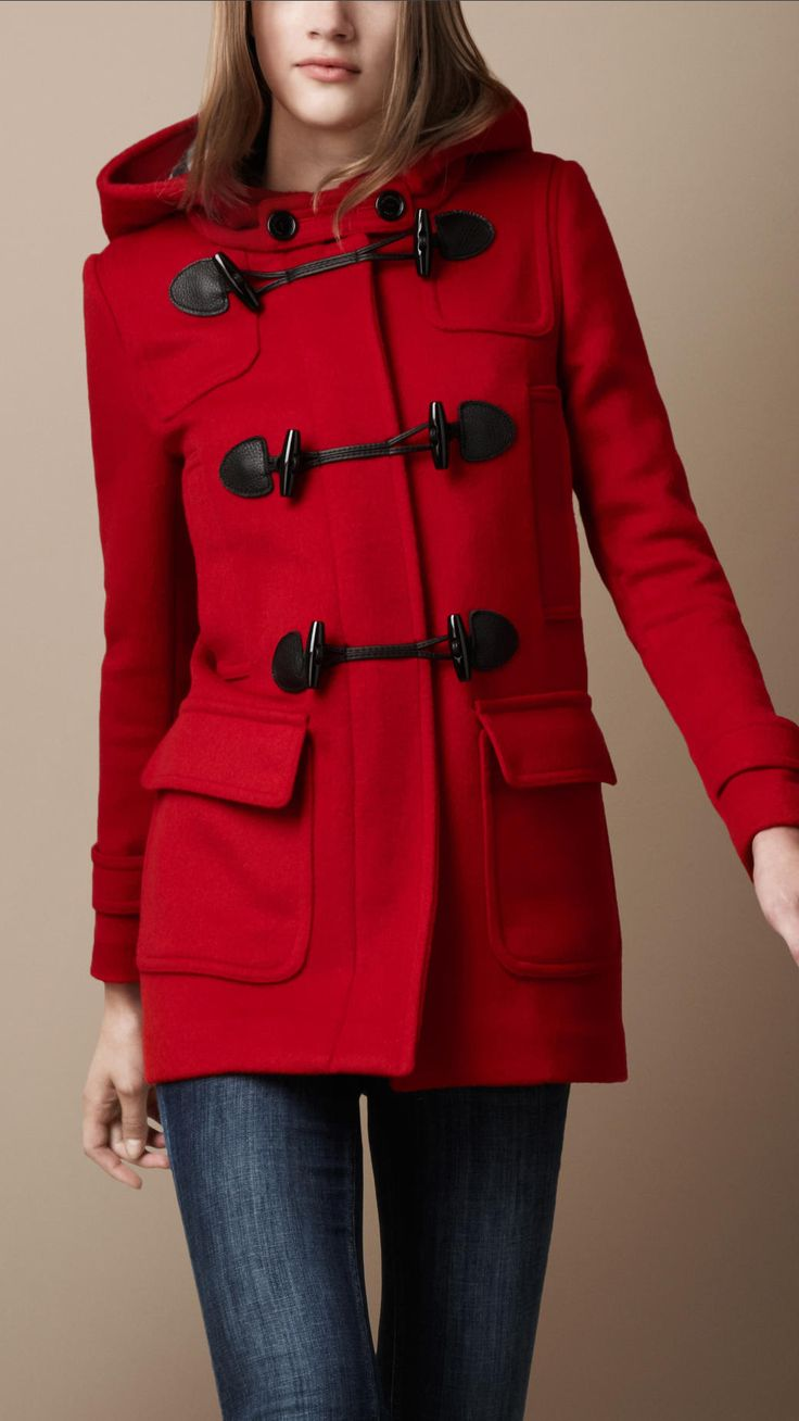 LOVE - have one in beige, though not burberry, and I'm dying for one in black... Great coat that goes with basically everything!